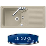 View Item Leisure Elite 1.0 Velstra Composite Champagne Sink VEL860CH