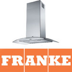 View Item Franke Glass Curved Island Cooker Hood FGC906IXS