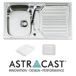 View Item Astracast Montreux 1.0 Bowl Brushed Stainless Steel Kitchen Sink & Accessories