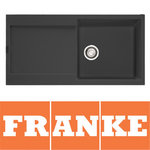 View Item Franke Maris 1.0 Bowl Granite Graphite Black Kitchen Sink & Waste MRG611