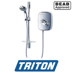 View Item Triton Aspirante Thermostatic Power Shower Chrome