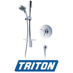 View Item Triton Thames Built-in Concentric Chrome Mixer Shower