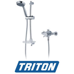 View Item Triton Mersey Exposed Concentric Chrome Mixer Shower
