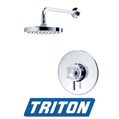 View Item Triton Mersey Built-in Concentric Chrome Mixer Shower F