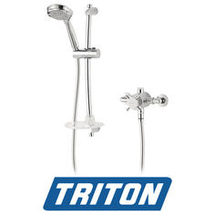 View Item Triton Mersey Exposed Sequential Chrome Mixer Shower