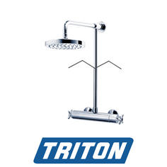 View Item Triton Mersey Bar Thermostatic Mixer Shower Fixed Head