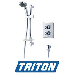 View Item Triton Mersey Thermostatic Dual Control Mixer Shower