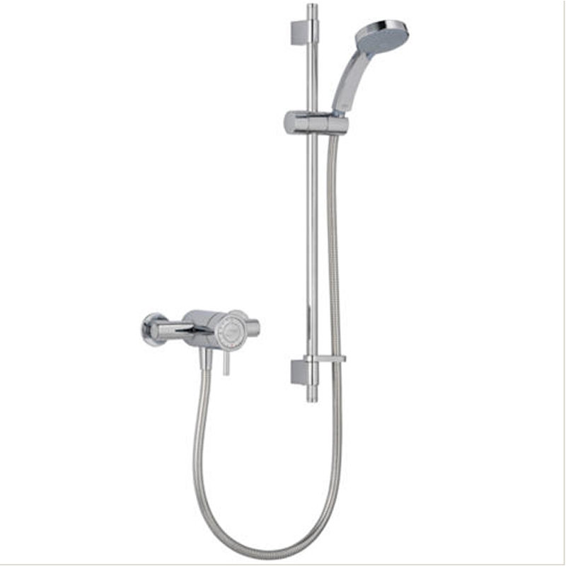 View Item Mira Element SLT EV Chrome Thermostatic Exposed Mixer Valve &amp; Shower Kit