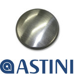 View Item Astini Brushed Steel Universal Fit Kitchen Sink Tap Hole Replacement Cover Plate