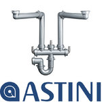 View Item ASTINI Universal 2 Bowl Kitchen Sink Plumbing Kit ST05B