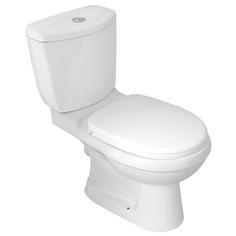 View Item Monte Carlo Close Couple P Trap Toilet Pan &amp; Cistern Inc Soft Close Toilet Seat