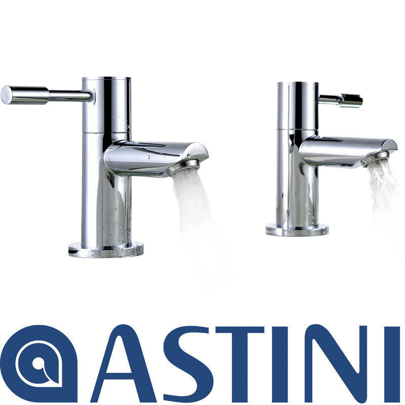 View Item ASTINI Esprit Chrome Bathroom Hot &amp; Cold Bath Taps P003