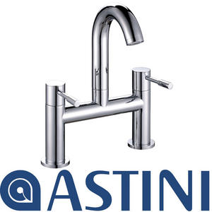 ASTINI Esprit Chrome Swan Neck Bathroom Bath Mixer Tap W015 Preview