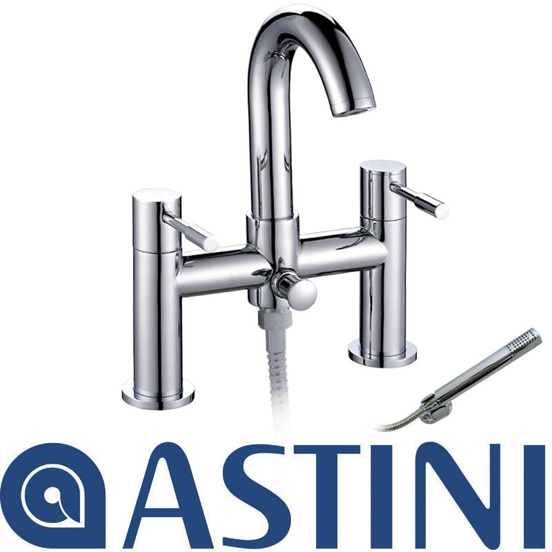 View Item ASTINI Esprit Chrome Swan Neck Bath Shower Mixer Tap W017