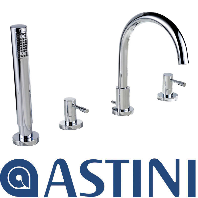 View Item ASTINI Esprit Chrome 4Hole Bathroom Bath Shower Mixer Tap W047