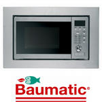 View Item Baumatic Built In 700W Microwave Stainless Steel Finish