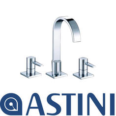 View Item ASTINI Imex Chrome 3 Hole Bathroom Bath Mixer Tap B049