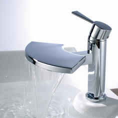 View Item ASTINI Blade Waterfall Bathroom Basin Mixer Tap B6005
