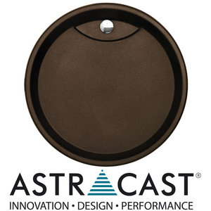 Astracast Vortex Round Drainer Chocolate Metallic Preview