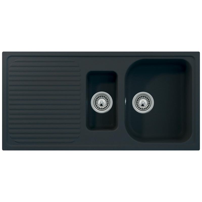 Schock Lithos D150 1.5 Bowl Granite Nero Black Kitchen