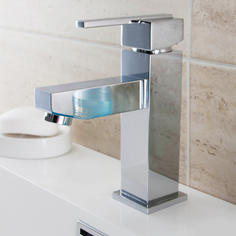 View Item ASTINI Wave Chrome Bathroom Basin Mixer Tap F009F