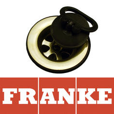 View Item Franke 60mm AH303978 Gold and Black Plug Kitchen Sink Waste 112.0048.564