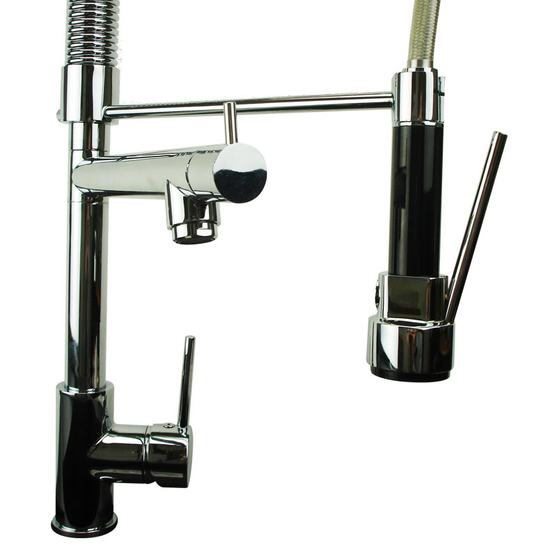 Alpha Chrome Professional Single Lever Kitchen Sink Mixer