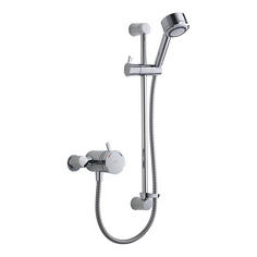 View Item Mira Discovery EV Chrome Thermostatic Concentric Mixer Valve &amp; Shower Kit