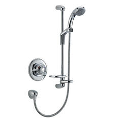 View Item Mira Gem 88B BIV Chrome Built In Valve Shower Mixer Valve &amp; Shower Kit