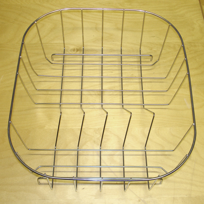 Stainless Steel Wire Kitchen Sink Drainer Basket Ebay