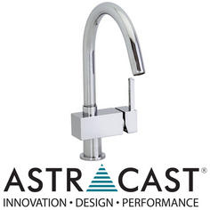 View Item Astracast Tiber Chrome Kitchen Sink Mixer Tap TP0715