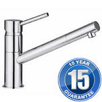 View Item Linda Chrome Single Lever Swivel Spout Kitchen Sink Mixer Tap 15521