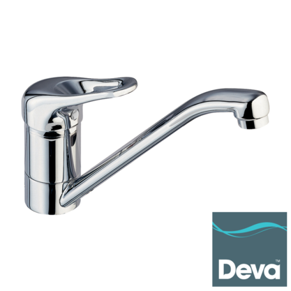 Deva Lace Chrome Pullout Spout Kitchen Sink Mixer Tap LACE171 Preview