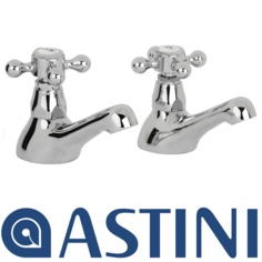 View Item ASTINI Ritz Chrome Basin Taps ARZ001