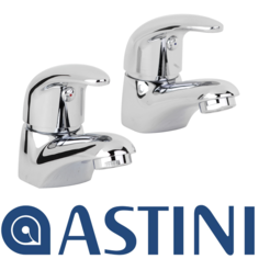 View Item ASTINI Titan Chrome Basin Taps ATT001