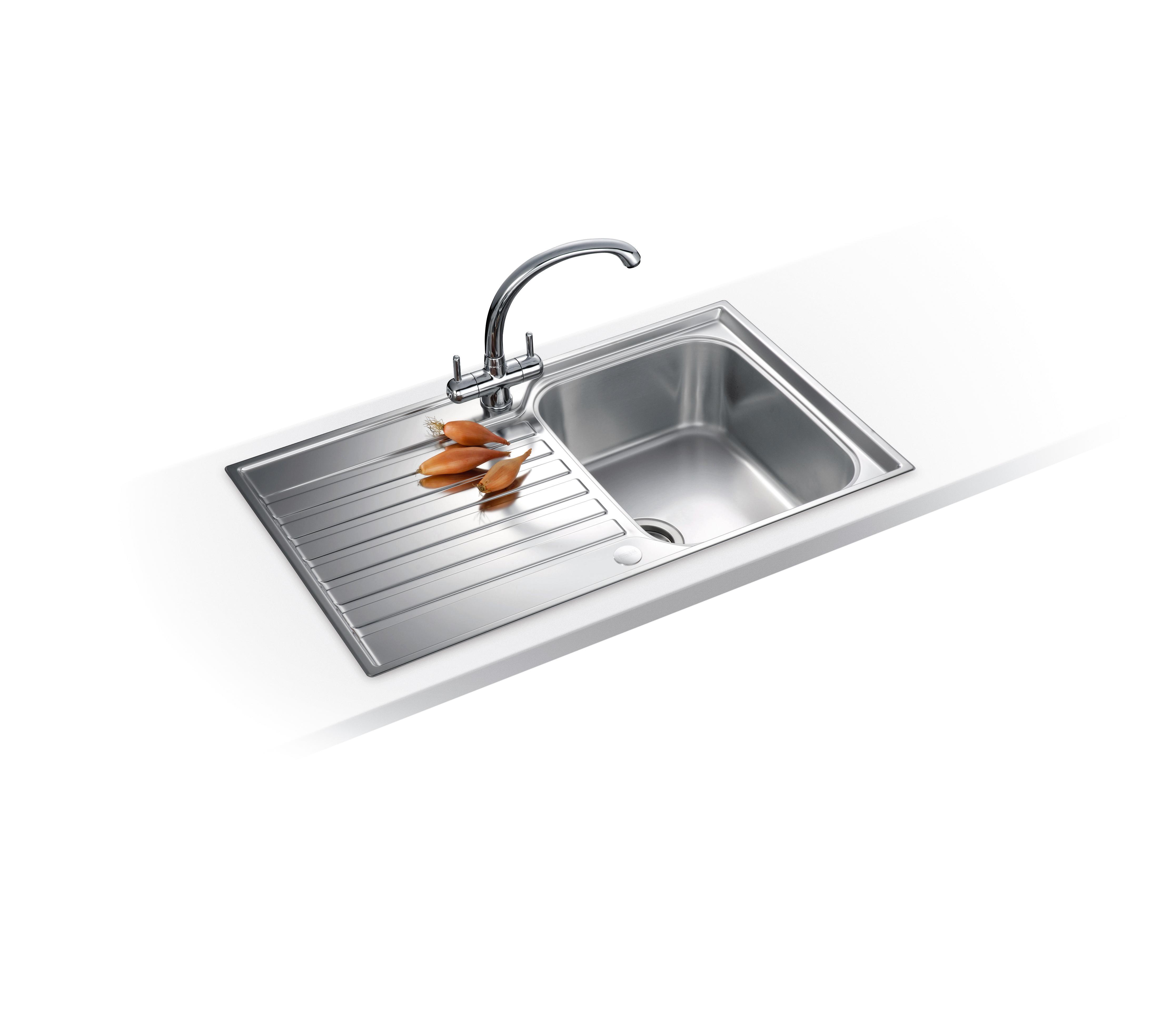 Fitting Franke Sink : Franke Ascona 1.0 Bowl Silk Stainless Steel Kitchen Sink ASX611 Sink ...
