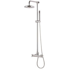 "View Item Orpheus Chrome Thermostatic 8"" Rain & Hand Shower Set HS11"