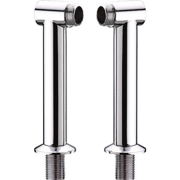 170mm height chrome bathroom bath mixer tap legs adapter pillars q22 ebay. Black Bedroom Furniture Sets. Home Design Ideas