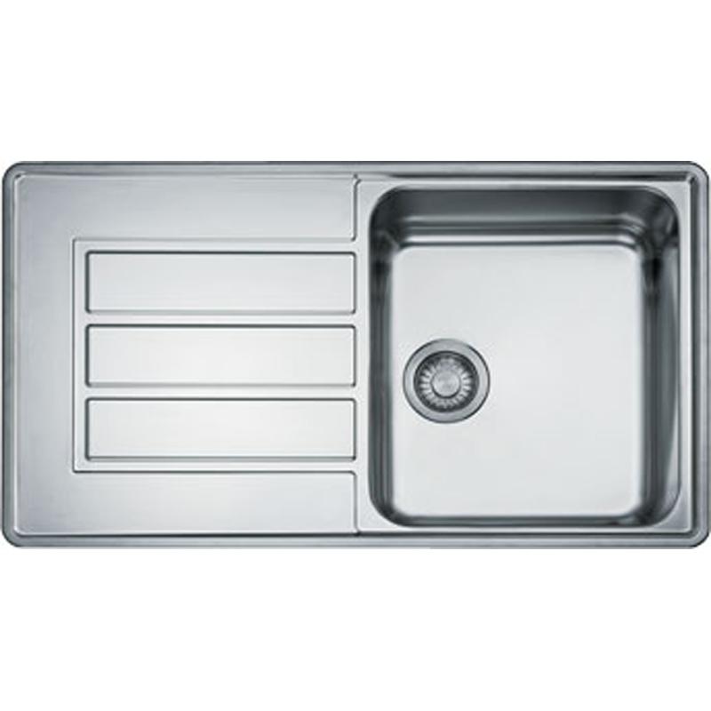Franke Alpina 1 0 Bowl Silk Stainless Steel Kitchen Sink APX611 Sink Only