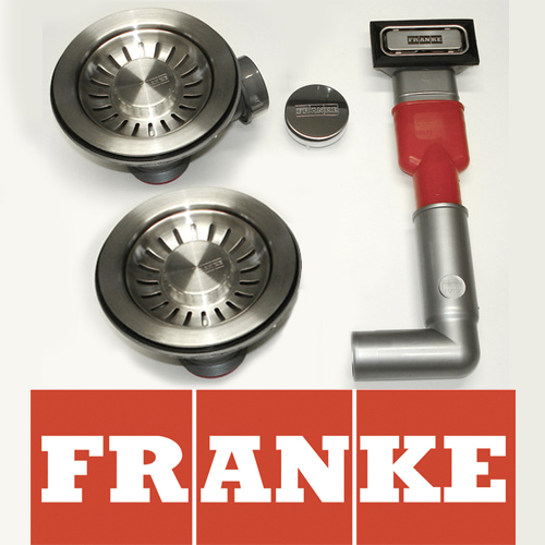 Bathroom sink taps - Franke Ascona 1 5 Bowl Asx651 Basket Strainer Waste