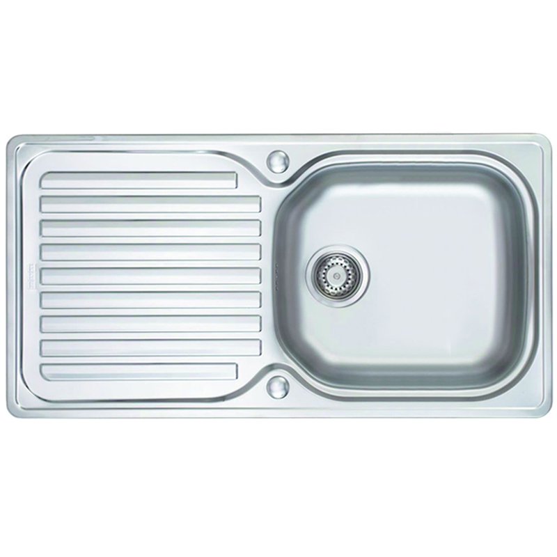 Franke Sink Replacement Parts : ... UK - Franke Elba 1.0 Bowl Polished Stainless Steel Kitchen Sink