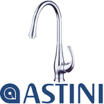 View Item ASTINI Larix Chrome Single Lever Kitchen Sink Mixer Tap HK48