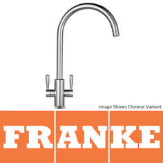 View Item Franke Ascona Silk Steel Kitchen Sink Mixer Tap