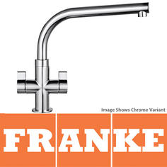 View Item Franke Sion Silk Steel Kitchen Sink Mixer Tap