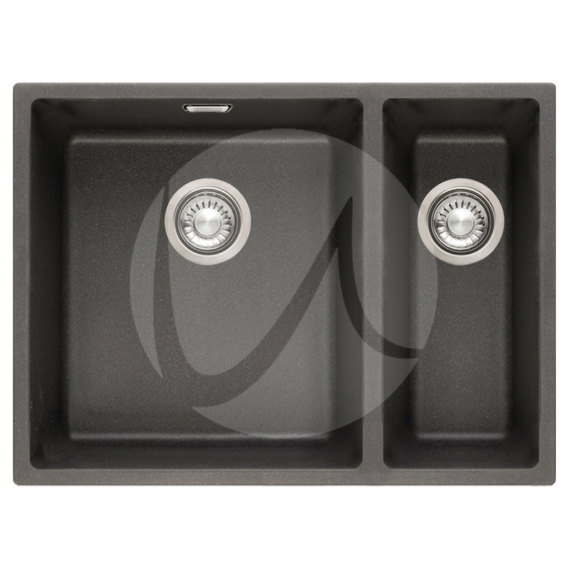 Franke Black Kitchen Sink: Franke Sirius 1.5 Bowl Granite Carbon Black Undermount