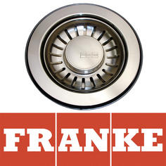 View Item Franke 90mm Silk Stainless Steel Kitchen Sink Basket Strainer Waste 112.0150.572
