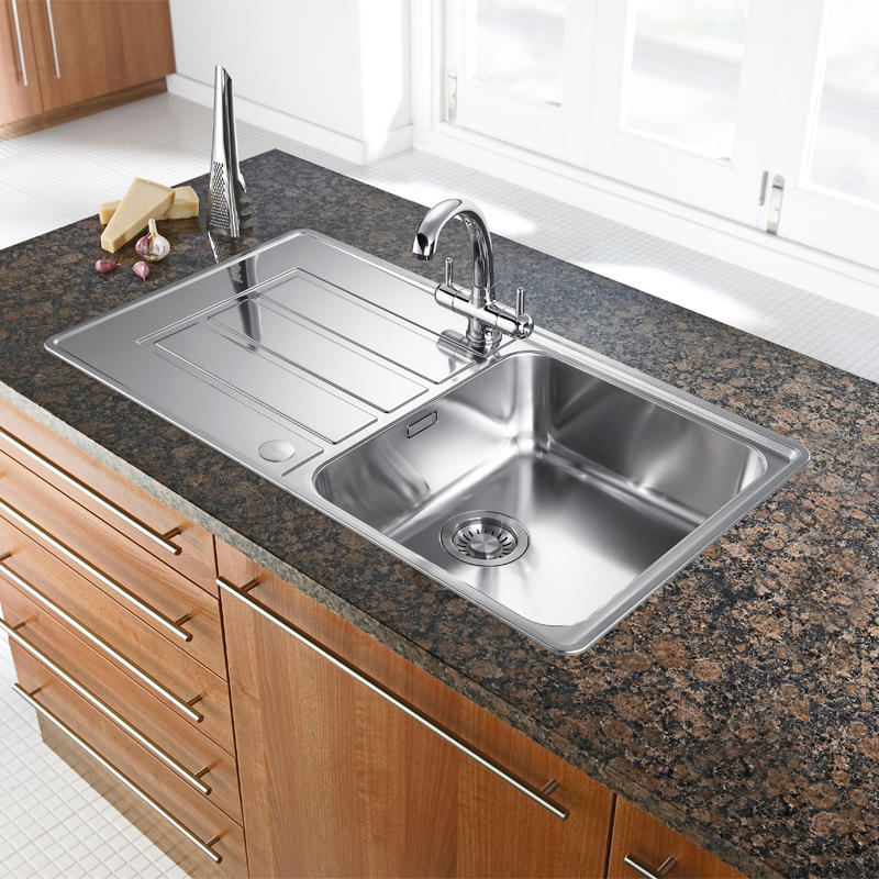 Franke Sink Cover : Franke Alpina APX611 Basket Strainer Waste Overflow, Clips & Tap Hole ...