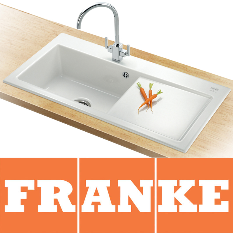 Franke White Ceramic Sink ~ Befon for .