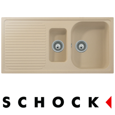 View Item Schock Lithos D150 1.5 Bowl Granite Pera Beige Kitchen Sink & Waste