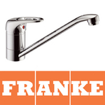 View Item Franke Pro Top Lever Chrome Single Lever Swivel Spout Kitchen Sink Mixer Tap